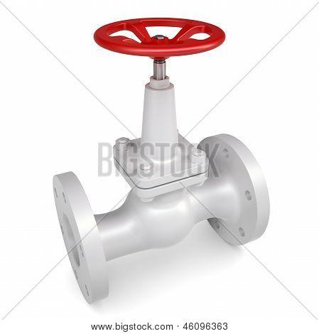 White valve