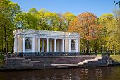 Portico of the Mikhailovsky Park.