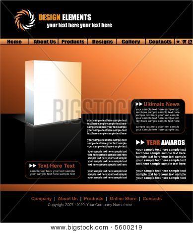 Web Site Elegant Template