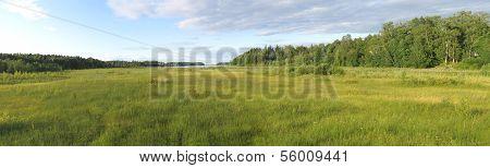 Lakeside panorama