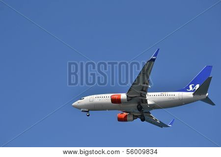 Plane Type Boeing 737-705.