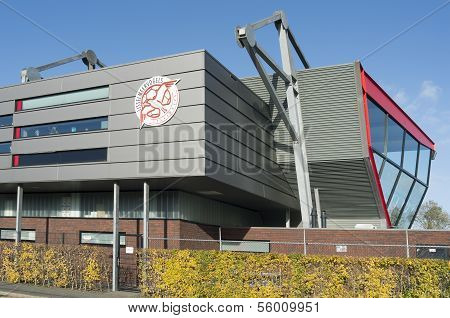Stadium Of Amateur Football Club Fc Ijsselmeervogels.