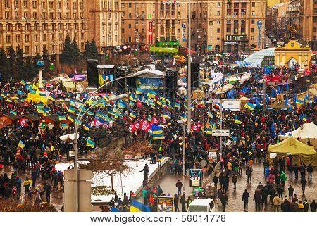 Anti-governmental Protests In Kiev, Ukraine