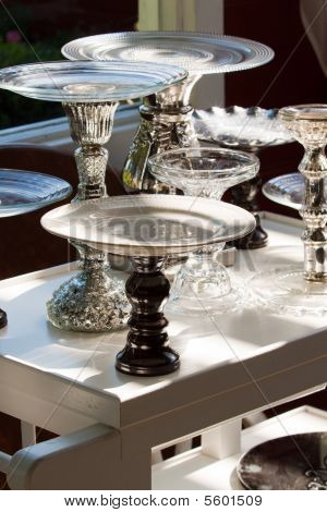 Footed Plates