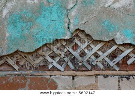 Decrepit Part Wall