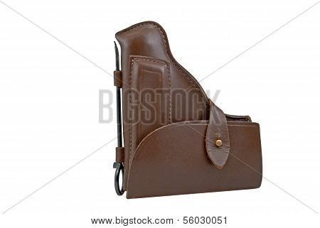 Holster On A White Background