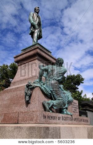 Abraham Lincoln Monument, Calton Hil,l Edinburgh