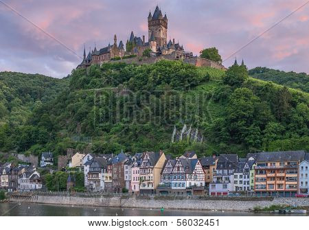 Cochem,Mosel River,Mosel Valley,Germany