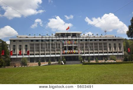 Reunification Hall, Presidential Palace Saigon Vietnam