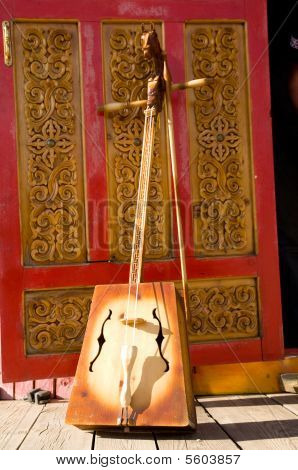 Mongolian Folk Stringed Instrument
