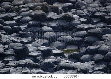 giant's causeway basalt columns