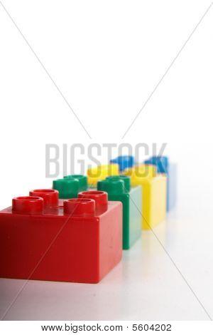 Bricks In Different Colors