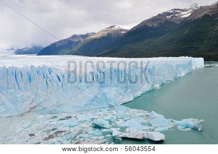 ARGENTINA - FEBRUARY 17: The Perito Moreno Glacier located in the Los Glaciares National Park in southwest Santa Cruz province, Argentina.