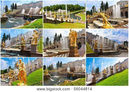Peterhof in Saint Petersburg