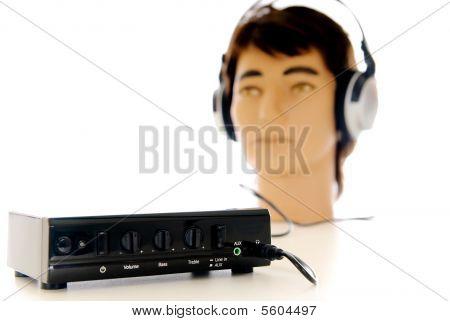 HiFi-sound Headset-system