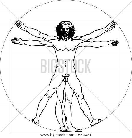 Da Vinci Man