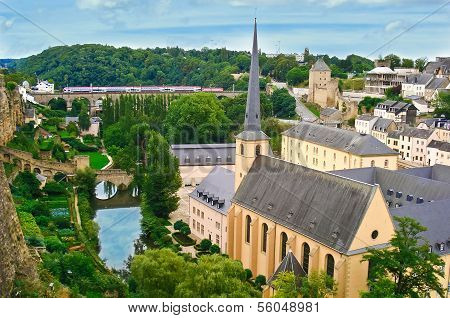 The Medieval Luxembourg