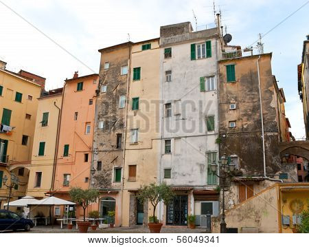 The Tilted Houses Of Sanremo
