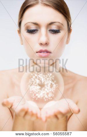 Glamour Brunette