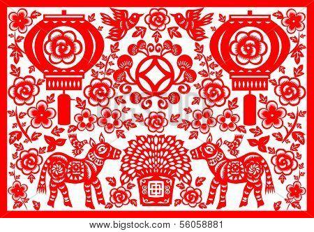 Chinese New Year Horse