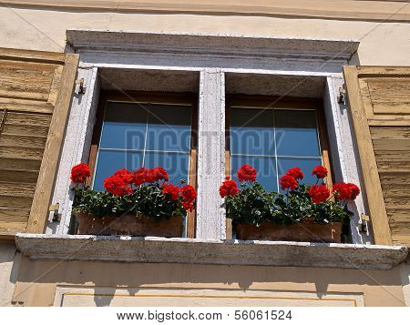 Typical Italian Creative Window