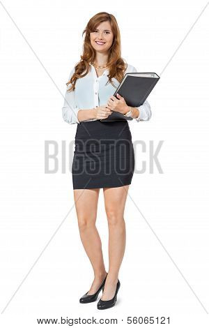 Attractive Trendy Young Businesswoman