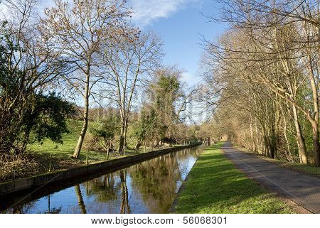 Canal near Pentre