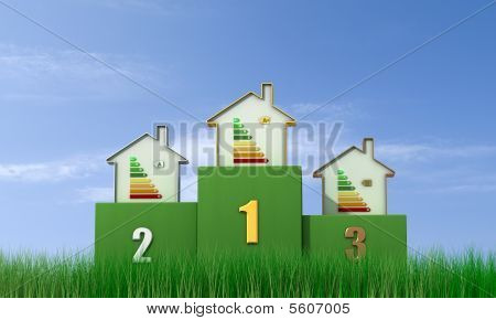 Energetic Podium - Outdoor Version