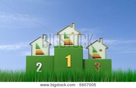 Energetic Podium - Outdoor Version