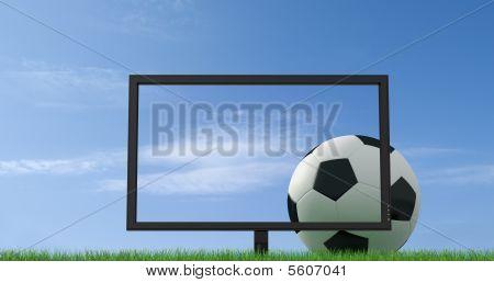 Futebol ao vivo na Tv de Lcd Full Hd