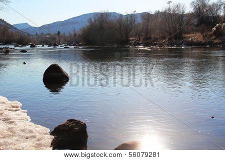 Winter on Animas River...