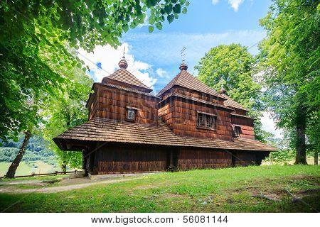 Church in Komancza, Poland