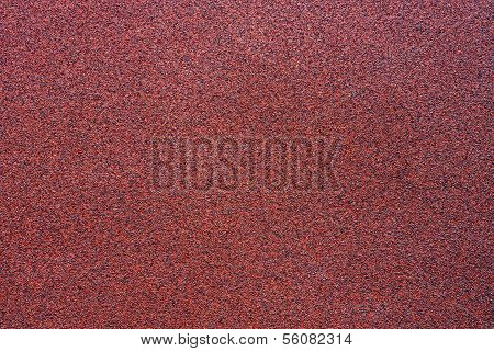 Fine-grained Texture Of A Red Abrasive Material