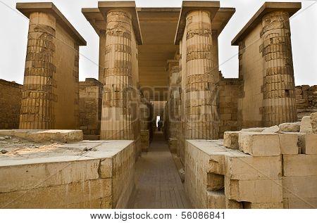 Saqqara Entrance To Temple
