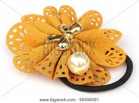 Hair Elastic Yellow