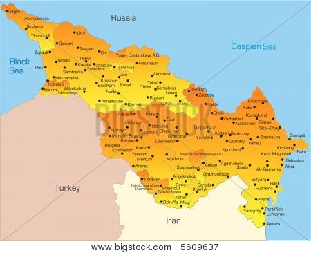 Länder Kaspischen region