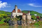 stock photo of castle  - Austria scenery - JPG