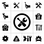 image of hand tools  - Tools icons - JPG