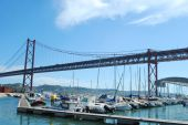 Abril 25Th Bridge In Lisbon, Portugal