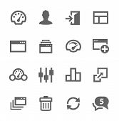 pic of node  - Simple icon set related to Dashboard - JPG