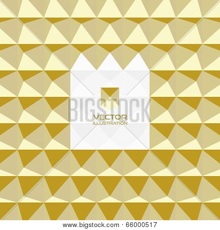 Abstract 3d geometric background. With place for text.