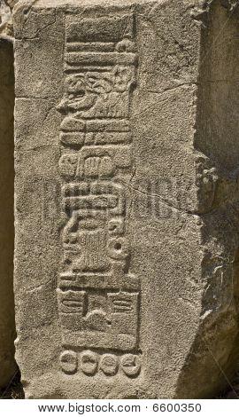 Pre-columbian Date Hieroglyphs In Mesoamerica