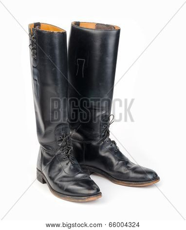 Equestrian or Mounted/Motorcycle Police, Riding Boots.