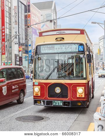 Taito City Loop Bus in Tokyo