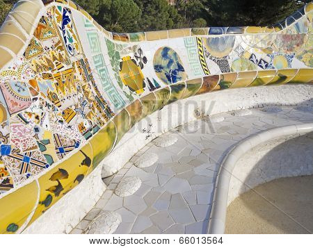 Mosaic of Park Guell