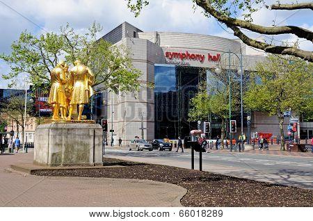 Symphony Hall, Birmingham.