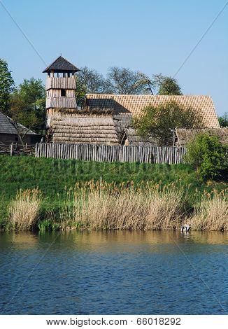 Archeoskanzen Blue - Great Moravian Fortified Settlement Near The Lake