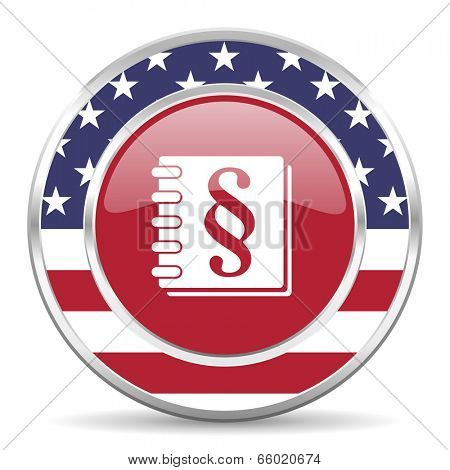law american icon, usa flag