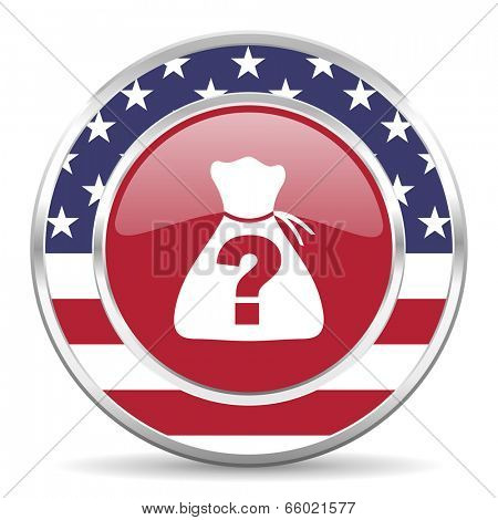riddle american icon, usa flag