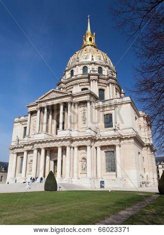Church of Hotel des invalides Paris France